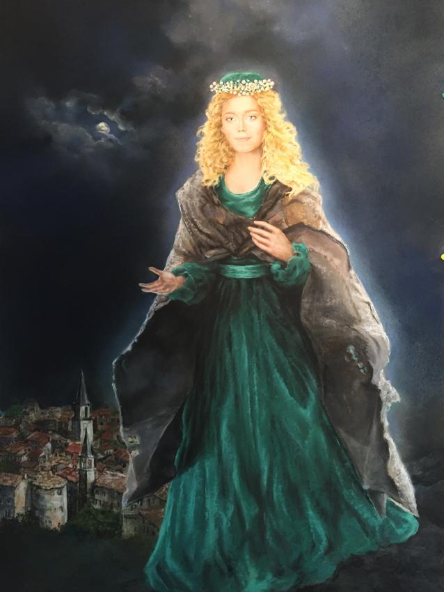 Sainte Vierge apparition de Marie
